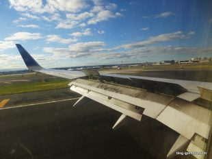 Lądowanie na lotnisku Newark