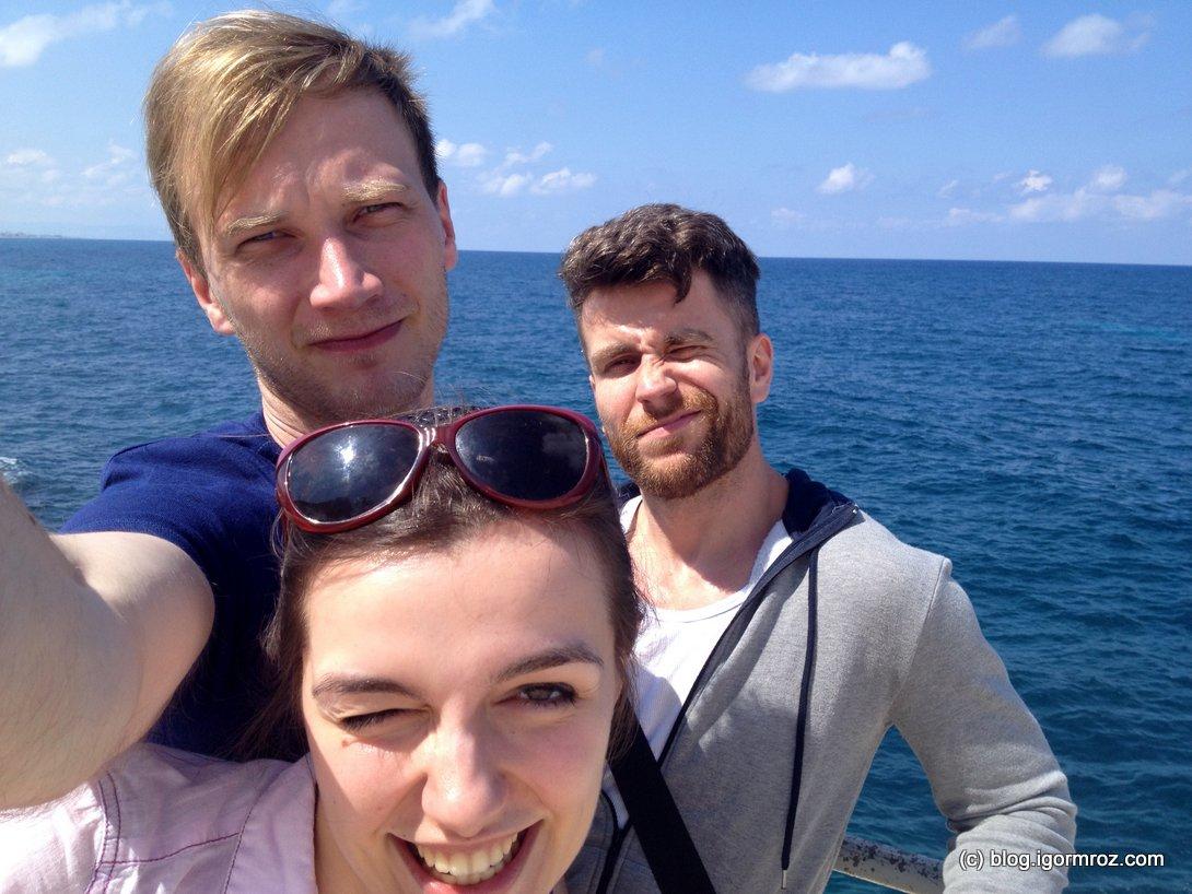 I na koniec: selfie z iPhone'a Tadeusza być musi!