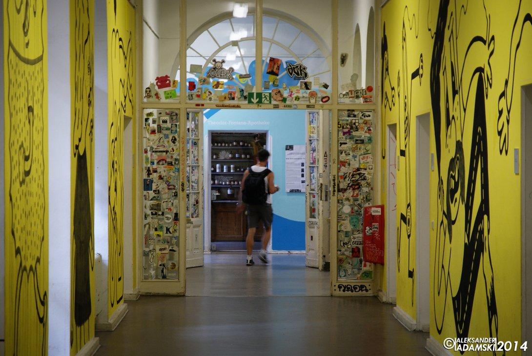 Co robić w Berlinie, Kunstraum Bethanien