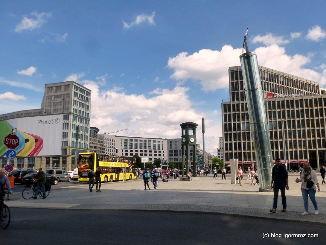 Zwiedzanie Berlina, Postdamerplatz
