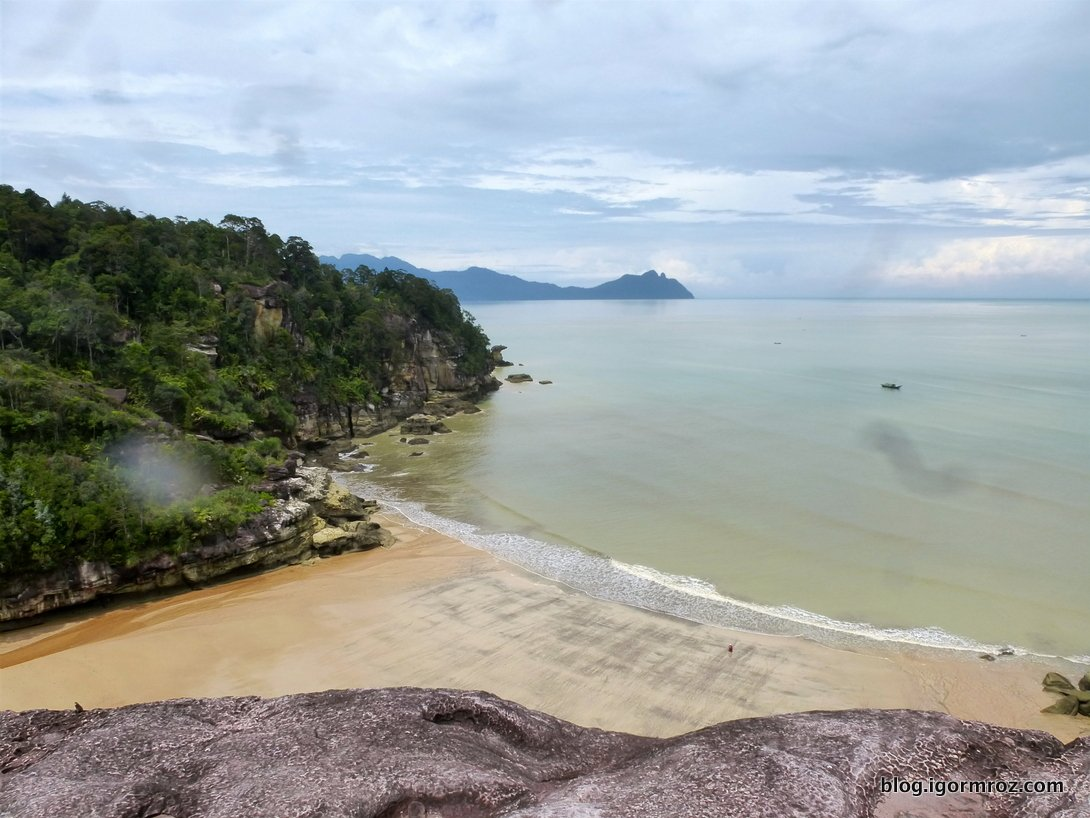 Bako na Borneo, Zatoka