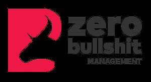 logo zero bullshit management