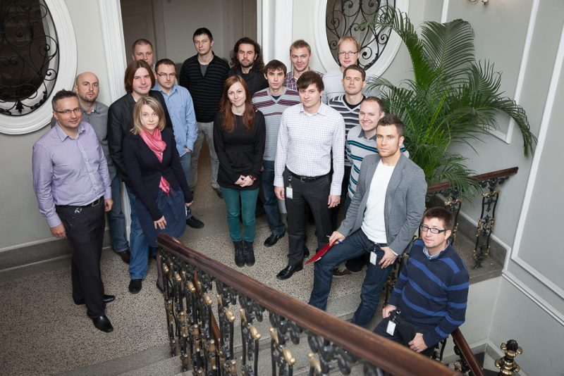 Team, ISDC staircase